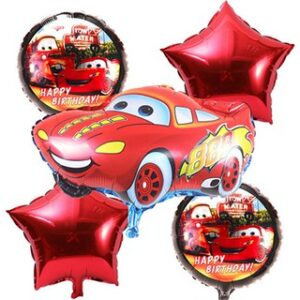 Character foil balloons